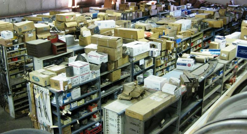 10,000 NOS Ford Parts in stock